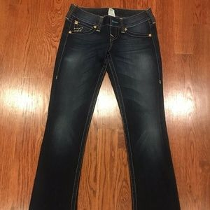 True Religion Rockstar Gina Bootcut Jeans - Sz 27